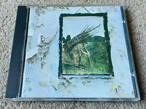 LED ZEPPELIN - IV - West Germany (1971 Atlantic) NO BARCODE - CD Excellent Con.