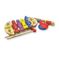 The Wiggles Mini Music Set - Xylophone Recorder and Castanet
