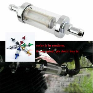 8mm 5/16''Fuel Filter Motorcycle Fuel Gas Filter for Honda Yamaha Kawasaki