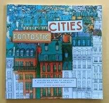 NEU Fantastic Cities Malbuch Erwachsene Kinder