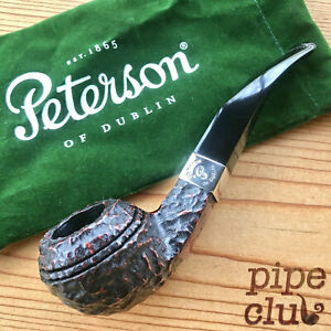 Peterson's Donegal Rocky Bent Bulldog (80s) Fishtail Pipe - NEW