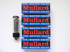 EL34 Mullard Matched Quad valves for Marshall Blackstar amplifier reissue tube