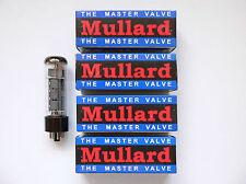 EL34 Mullard Matched Quad valves for Marshall Blackstar amplifier reissue tube