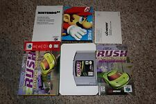 San Francisco Rush Extreme Racing (Nintendo 64 n64 1997) Complete in Box GREAT A