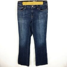 LL Bean (X2-22) Women's Sz 6 Blue Jeans Bootcut Stretch