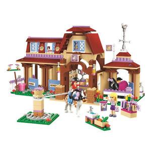 Friends Series Heartlake Riding Club Model Building Block Bricks Toy Children