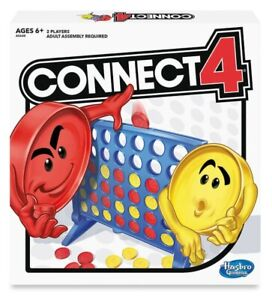 NEW HASBRO ORIGINAL CONNECT 4  FOUR BOARD GAME A5640