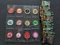 Capcom Monster Hunter 10th Anniv Golf Marker Coins Complete Rare Promo Banpresto
