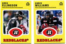2016 OPC CFL Ottawa Red Blacks Greg Ellingson and Chris Williams