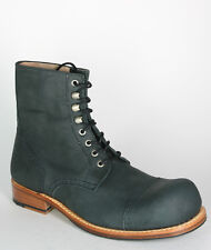5221 Charly Vienna Lace-Up Coal Black Seam Stitched Shoes