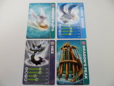 Skylanders Spyros Adventure StatCards ~ Lot of 4 Trading Cards Gift (Cards Only)