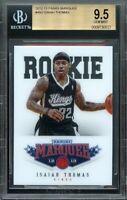 2012-13 panini marquee #493 ISAIAH THOMAS boston celtics rookie card BGS 9.5