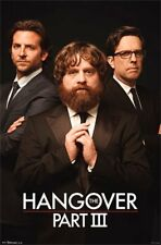 THE HANGOVER PART 3 TRIO POSTER new free shipping