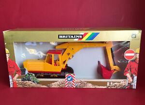 1987-91 Britains 1/32 Road Series JCB Excavator No9913 MIB