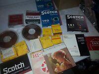 HUGE lot of Un developed film / tape / reels FROM ESTATE SALE!