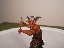 Elastolin 7cm-70mm Pro-Painted Viking with Long Axe, ELASTOLIN CONVERSION FIGURE