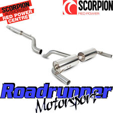 Scorpion Clio 200 RS Exhaust System Stainless Cat Back Resonated 2010 on SRN023