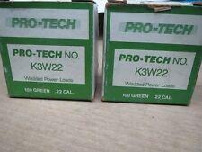 Wadded Power Loads .22 Caliber Green Pro-Tech (Ll0762-2)