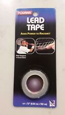 "Tourna Lead Tape - 18 grams - 1/4"" x 1.82m - Tennis Golf Badminton"