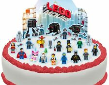 Cakeshop PRE-CUT The Lego Movie Edible Cake Scene - 25 pieces