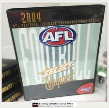 2004 SELECT AFL CONQUEST TRADING CARD OFFICIAL ALBUM-RARE