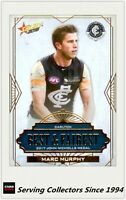 2018 AFL Footy Stars Trading Card Best & Fairest Card BF3 MARC MURPHY-CARLTON