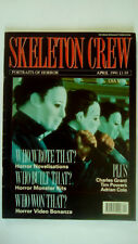 Skeleton Crew Magazine Portraits of Horror April 1991