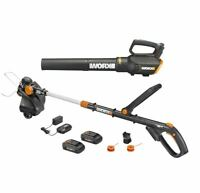 WORX WG930.1 20V 4.0 Powershare 3-in-1 GT Revolution Trimmer & Turbine Blower