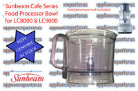 Sunbeam LC8000 LC9000 Food Processor Bowl - LC90017 - NEW - GENUINE - IN STOCK