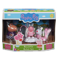 PEPPA PIG Peppa's Beautiful Ballet School Playset x4 Action Figures **NEW**