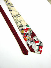 RENAISSANCE Cravatta Tie NUOVA NEW ORIGINALE IDEA REGALO