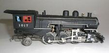 Mid-Century Black Cast Steel HO Locomotive