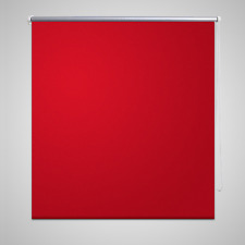 RED Roller Blinds Blackout Window Home Office Blind Sunshade Wall 120 x 175 cm