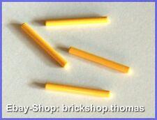Lego 4 x Stab Lichtschwert - 30374 - Bar 4L Lightsaber Blade Yellow - NEU / NEW
