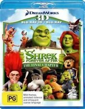 Shrek Forever After 3d / 2d Region B Blu-ray 2 Disc Very Good