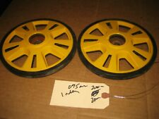 2x Skidoo 200mm Idler Wheels Summit 503191450