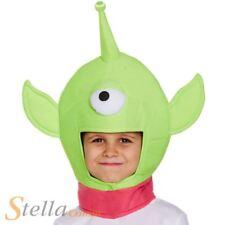 Childrens Alien Hat One Eyed Monster Kids Space Boys Girls Fancy Dress
