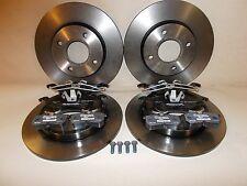 Original Bremsscheiben mit Bremsbeläge vorne + hinten Ford Focus MK1 1998-2005