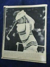 1986 PGA Steve Pate Kirin Cup WCG Kapalua Bay 17th tee Vintage Wire Press Photo