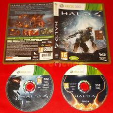 HALO 4 XBOX 360 Versione Ufficiale Italiana 1ª Edizione ○ COMPLETO - DF
