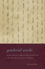 GENDERED WORDS - LIU, FEI-WEN - NEW HARDCOVER BOOK