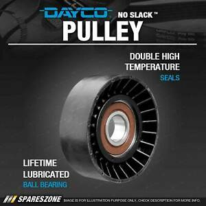 Dayco Tensioner Pulley for Chrysler 300 RB3G Grand Voyager RT Voyager RG