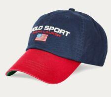 Polo Ralph Lauren NAVY POLO SPORT Embroidered Baseball Ball Cap Hat