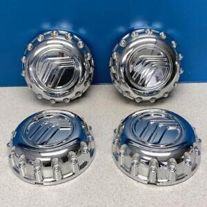 1998-2001 Mercury Mountaineer # 3261 Aluminum Wheel Chrome Center Caps SET/4