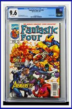 Fantastic Four #v3 #16 CGC Graded 9.6 Marvel April 1999 White Pages Comic Book