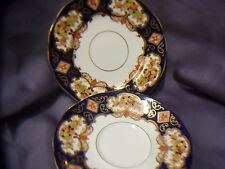 ROYAL ALBERT BONE CHINA  1  SAUCER  AND 1 SMALL PLATE   DERBY PATTERN