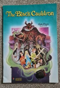 Walt Disney The Black Cauldron Panini Sticker Album