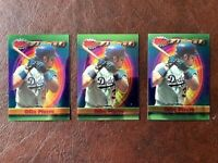 MIKE PIAZZA 1994 TOPPS FINEST (3 CARD LOT OF #1 HOF LOS ANGELES DODGERS NEW MINT