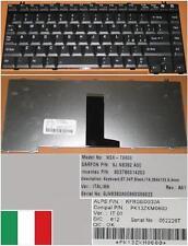 CLAVIER QWERTY ITALIEN TOSHIBA A10 NSK-T9A0E KFRSBD002A 9J.N8382.A0E PK13ZKM0600