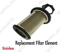 Oil Catch Can Stainless Filter For Hilux Landcruiser 4WD Turbo Patrol Diesel